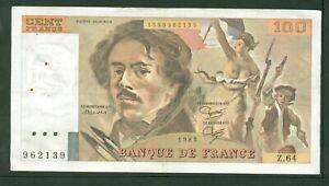 France 100 francs Delacroix 1983 Etat: ttb + z64 962139   eBay