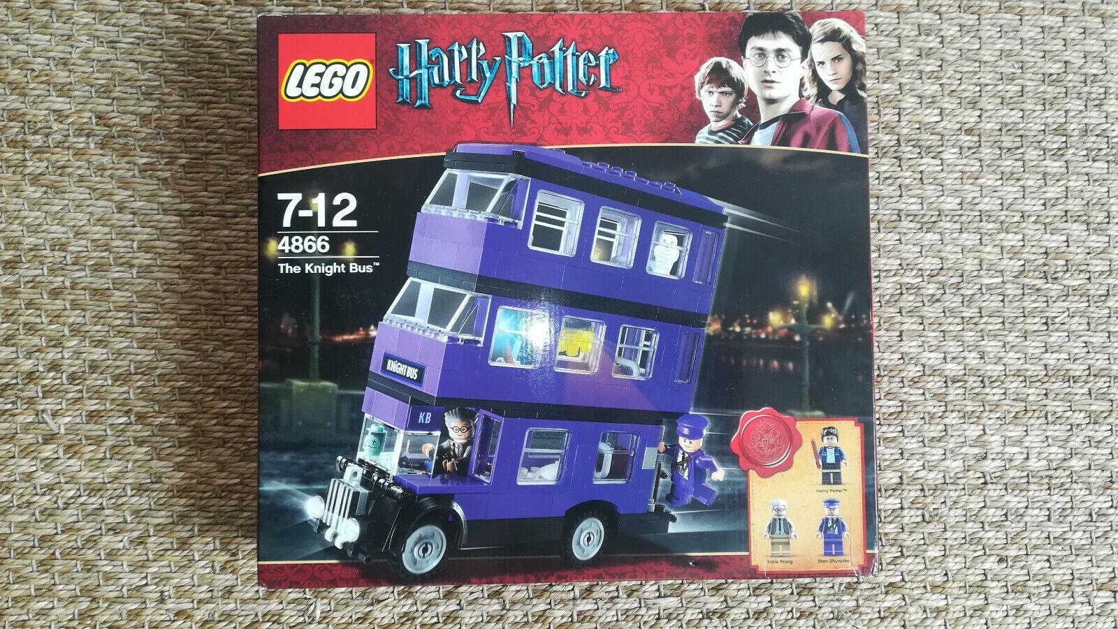 LEGO NEUF scellé Harry potter  Knight Bus 4866 Le bus magicobus