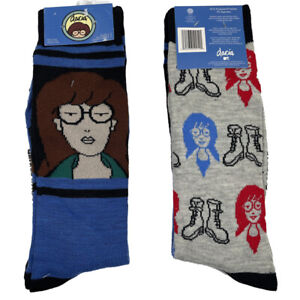 DARIA Socks - 2 PAIRS 🧦🧦 Size 6-12 - Fast Shipping! Brand New! Comedy Central