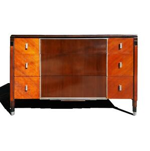 Image Is Loading Art Deco Dresser Chest Of Drawers By Northern