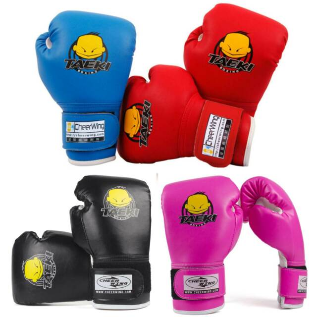 Boxing Gloves For Kids Age 3 To 7 Years Sparring Punching Bag Boys Girls 4oz /""