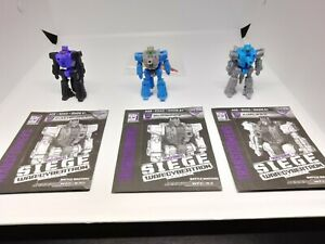 Aimless Blowpipe Caliburst Transformers Siege Battle Masters Lot
