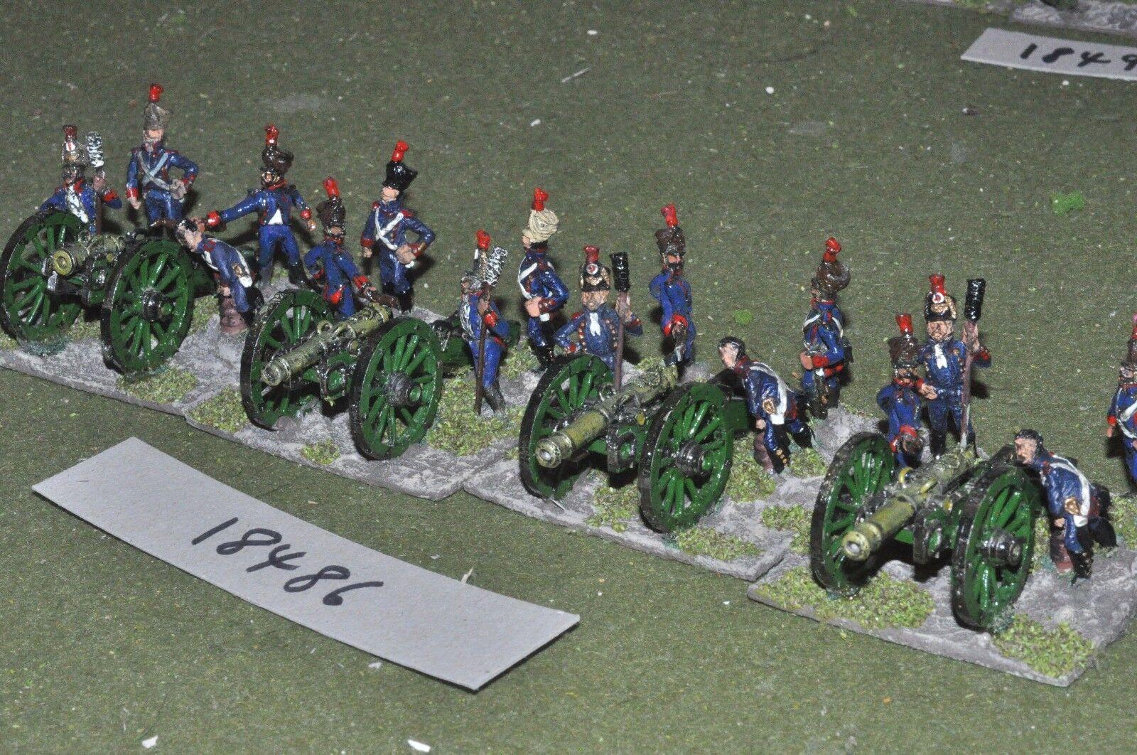 25 mm napoléoniennes/fran ais-Artillerie de 4 canons Crews-art Crews-art Crews-art (18486) e34a08