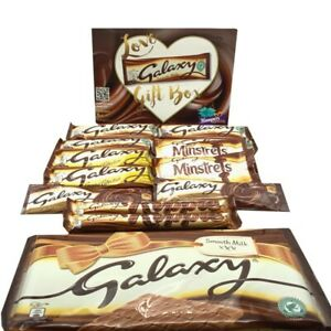 Details About Galaxy Chocolate Gift Box Hamper 13 Items Cw Huge Bar Free Postage