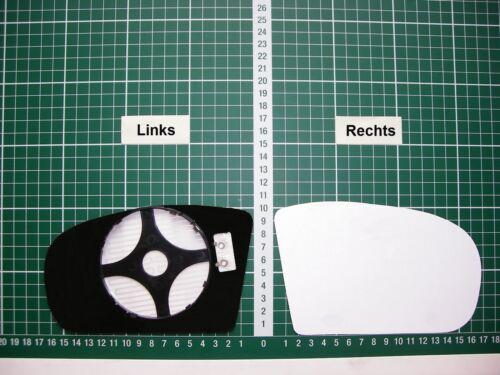 Rétroviseur Extérieur Miroir De Verre Ersatzglas MERCEDES C Type w203 Li ou RE SPH complet bhzt