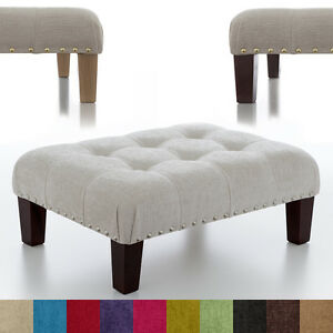 Image Is Loading New Oned Footstool Foot Rest Small Large Pouffe