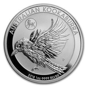 2018-Silver-1-oz-Australian-Kookaburra-Dog-Privy-Limited-Mintage