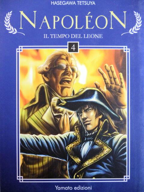 """NAPOLEON """"Il tempo del leone"""" n. 4, di Hasegawa Tetsuya, ed.YAMATO - SCONTO 20%"""