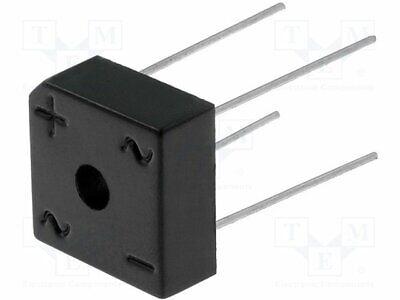 2X RS807 Einphasen Brückengleichrichter Urmax 8A Ifsm 200A DC COMPON 1000V If
