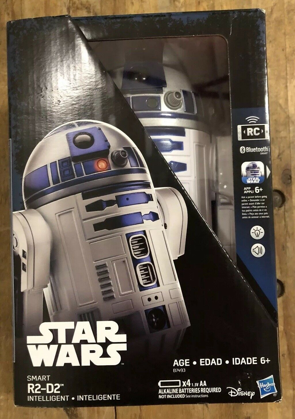 BRAND NEW Star Wars Smart App Enabled R2-D2 R2D2 Remote Control Robot RC Genuine