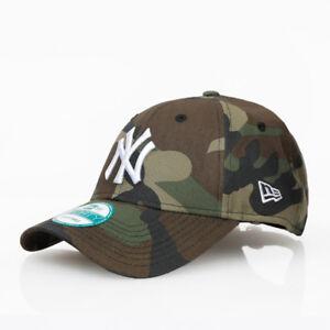 New Era 9forty NY Yankees Camo Adjustable Curve Peak Camouflage Hat ... 2402a0febf9