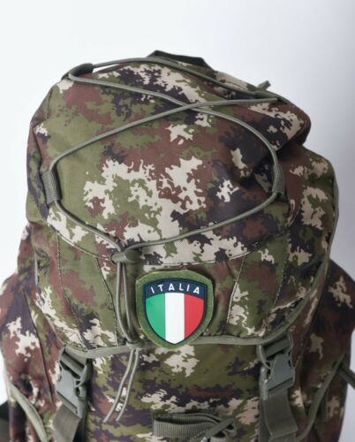 Backpack Excursion Military Vegetated 25 Lt 45x30x18 Camo Rucksack Pack With