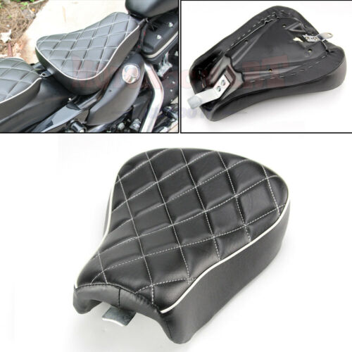Front Driver Solo Seat Cushion For Harley Sportster Forty XL1200 Iron 883 72 48