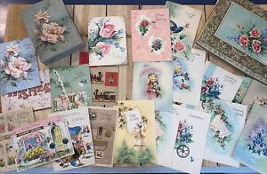 Vintage-Greeting-Cards-Assorted-2-Boxes-Unused