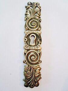 Ancienne entr e de serrure meuble armoire en bronze louis xiv ebay - Serrure armoire ancienne ...