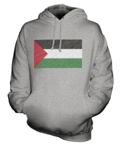 Bandiera Filastn Palestina Felpa Idea Regalo Scarabocchiato Unisex Maglia 5507xOnr