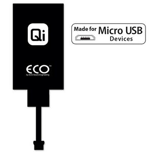 ECO Qi Universal Wireless Charging Receiver for Micro USB Qi NBOBL6600W