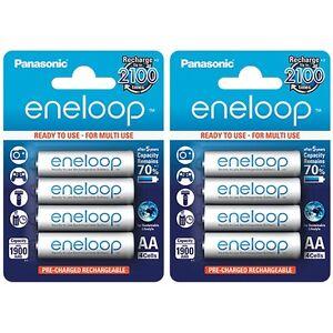 8x-Panasonic-Eneloop-AA-Rechargeable-LSD-NiMH-Batteries-4th-Gen