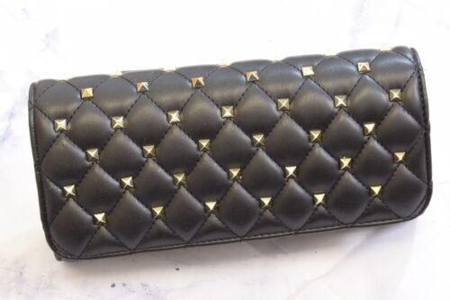 del del las ador dise acolchado del del de Faux moda Bolso tachonado del del oras bolsillo bolsillo de la se monedero bolso qvCAXwtF