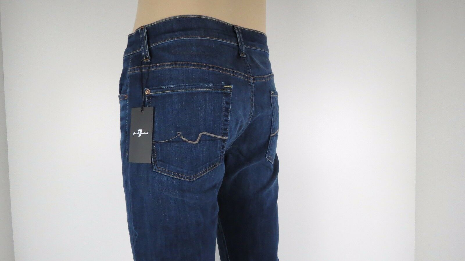 NWT 7 Seven For All Mankind CARSEN, Hawaiian Ice, Size 30,