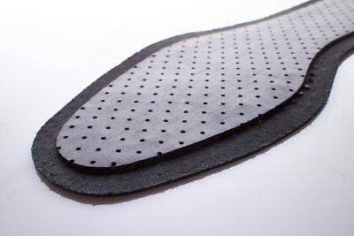 100% Cuero Natural De Zapatos Plantillas Unisex Carbón Activo Original Suela Interior