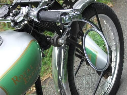 Classic motorcycle bar end mirror suits Honda CB72
