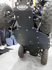Honda Pioneer 500 UHMW skid plate underbody SSS Off Road