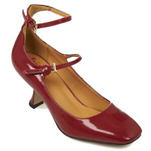 Margarita Heels Swing Pumps Rockabilly Burgunder Vintage Lackleder Retro Banned xnCSqA0gA