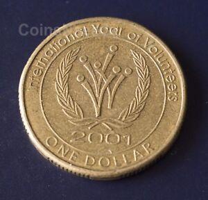 Image Is Loading 1 Coin 2001 International Year Of Volunteers Australian
