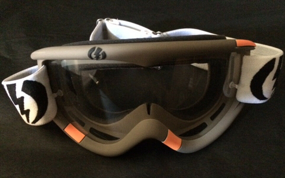 Mask jetski motorcycle ski snow ELECTRIC Missile Grey   Clear - PWC