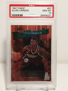 1997-Finest-57-ALLEN-IVERSON-PSA-10-Gem-Mint-LOW-POP-15-2nd-YEAR