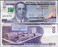PHILIPPINES 100 PISOS PESOS 2011 P NEW COMM. DE LA SALLE UNC