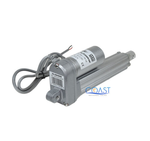 "2X Heavy Duty 4/"" 12Volt 175Lb Static 450Lb Car Truck Linear Actuator XLA04HD"