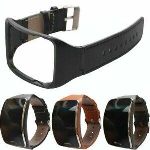 Armband-Uhrenarmbaender-Halter-fuer-Samsung-Gear-S-SM-R750-Smart-Watch-Echte-Leder