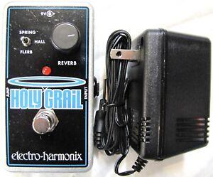 Used Electro-Harmonix EHX Holy Grail Reverb Guitar Effects Nano Pedal