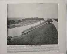 Impresión De 1898 + texto ~ Highland Park Pittsburg ~ Pennsylvania