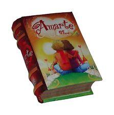 Amarte Es libro miniatura de fácil lectura pasta dura mas de 400 pgs coleccionab