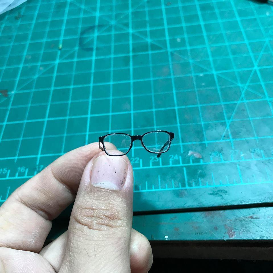 Egentillverkad 1  6 skala Clark Kent (Stålmannen) Glasögon