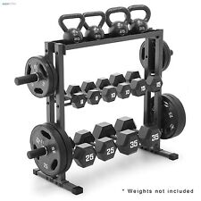item 5 Olympic Dumbbell Rack Gym Plates Stand Fitness Equipment Weight Lifting Storage -Olympic Dumbbell Rack Gym Plates Stand Fitness Equipment Weight ...  sc 1 st  eBay & Garage Weight Rack Gym Storage Stand Plate Fitness Dumbbell Holder ...