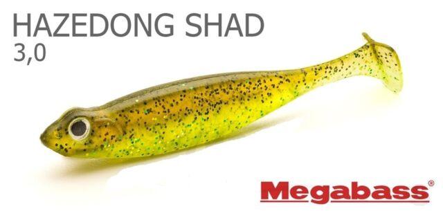 """Megabass Hazedong Shad Softbody Paddletail Swimbait 4.2/"""" Japanese Fishing Lure"""