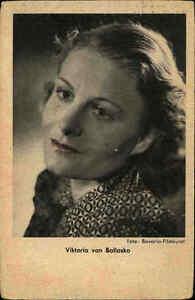 Viktoria-von-Ballasko-Portraet-Postkarte-Foto-Bavaria-Filmkunst-ca-1940-50