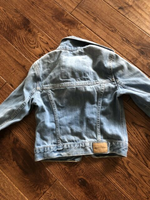 Abercrombie Kids Denim Jacket Girls Size Medium Great