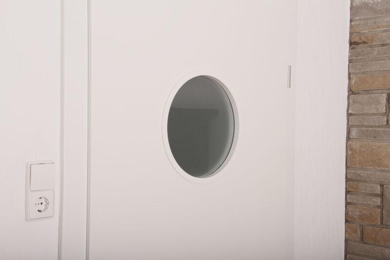 Glasleistenring Bullauge | Weiß  | Lichtausschnitt  Objekt- Objekt- Objekt- & Zimmertüren Ø 398 6f33bf