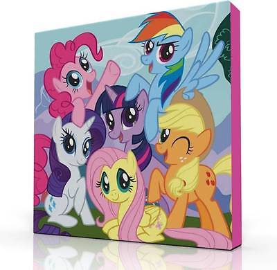 """DEEP EDGE CANVAS PICTURE 10""""X10""""  NEW MY LITTLE PONY  BRAND NEW!"""