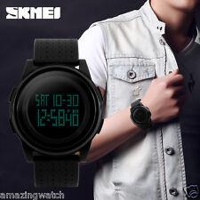 Imported Original SKMEI 1206 Full Black Digital LED Men's Wrist watch