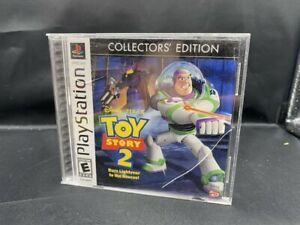 PLAYSTATION 1 PS1 DISNEY PIXAR TOY STORY 2 COLLECTORS EDITION COMPLETE GAME BUZZ