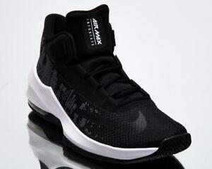 63bffa92353d5 Nike Air Max Infuriate 2 Mid Men New Black White Basketball Sneakers ...