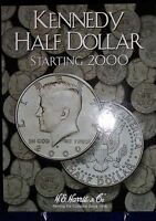 Kennedy Half Dollar Starting 2000 Coin Folder Harris Album 2942