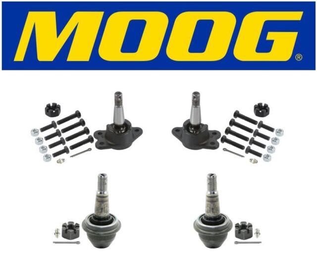Moog Set Of 2 Upper /& 2 Lower Ball Joints Fits 1996 Chevrolet C1500