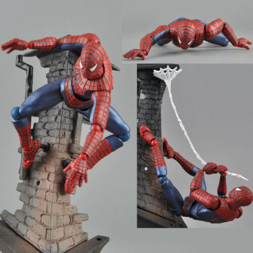 SpiderMan SCI-FI Revoltech Series No.039 Spider Man Action Figure Figma New
